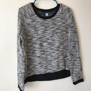 Light weight marled sweater